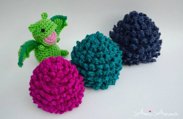 Crochet Dragon Egg with Surprise