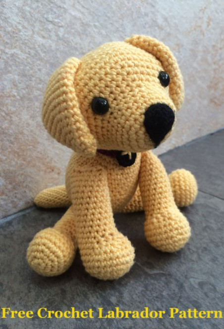 Crochet Labrador How To Make Your Own Toy Dog