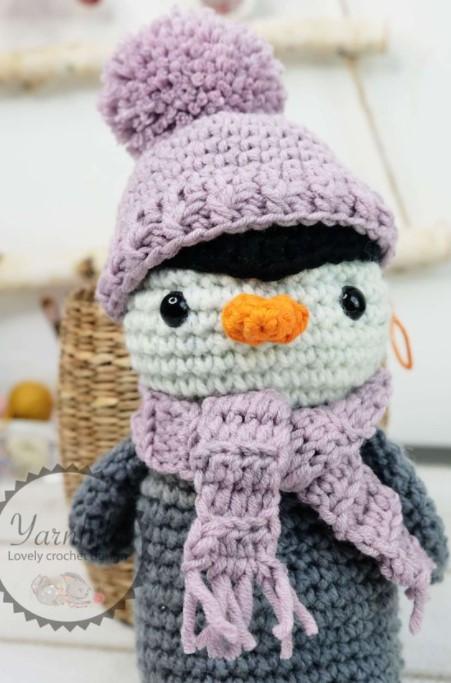 Crochet Penguin Pattern Frosty the Penguin