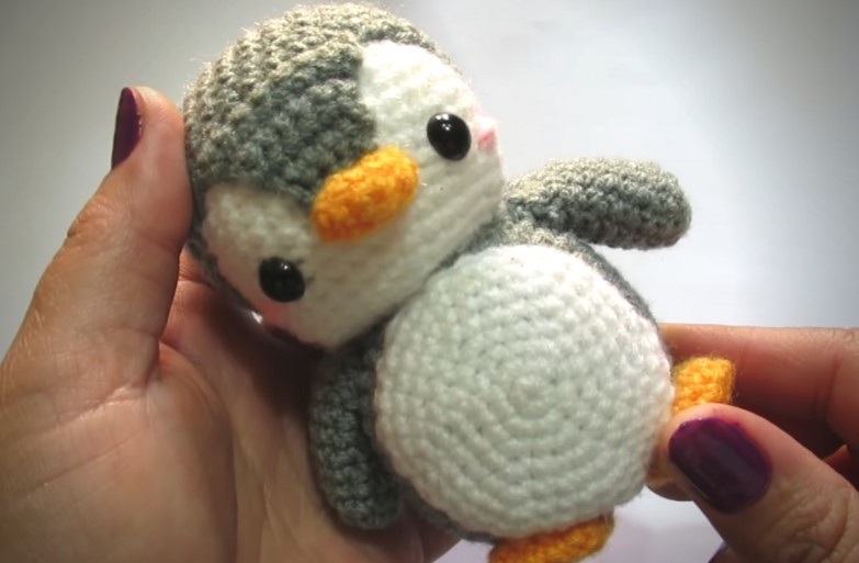 Cute Penguin Amigurumi Tutorial Crochet Video Tutorial