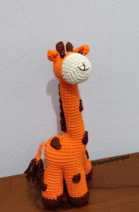 Cute giraffe amigurumi