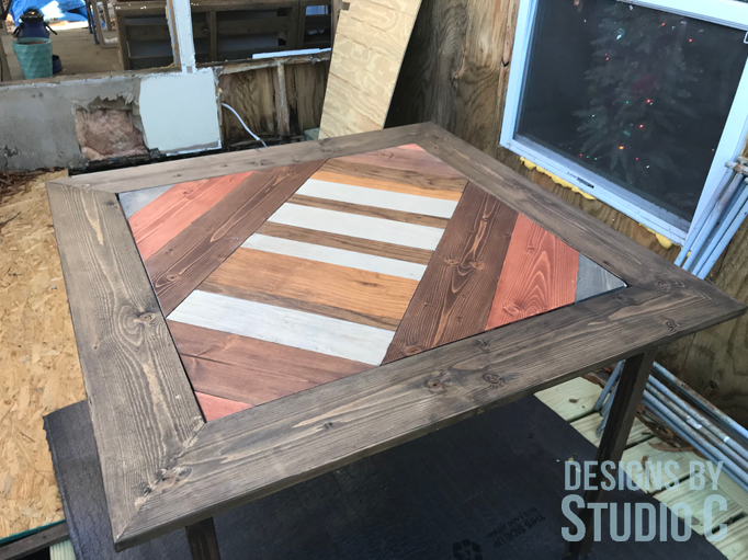 DIY FURNITURE PLANS TO BUILD A FOLDING TABLE