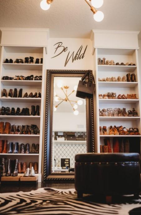 DIY Shoe Closet