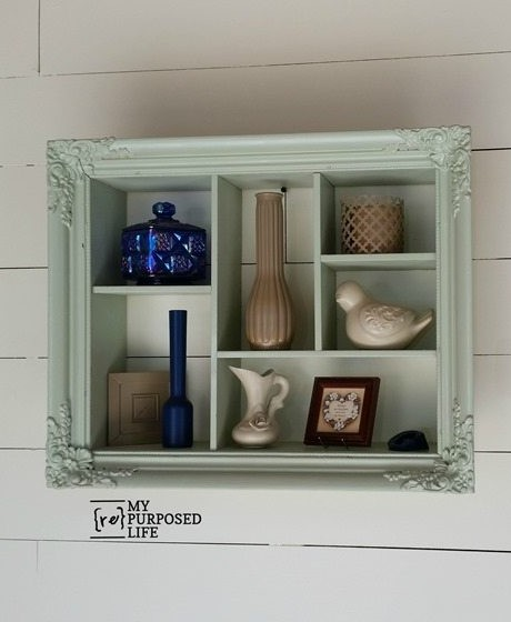 EASY SHADOW BOX FROM A PICTURE FRAME