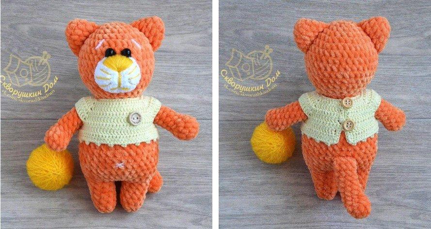 Free Amigurumi Orange Cat Patterns