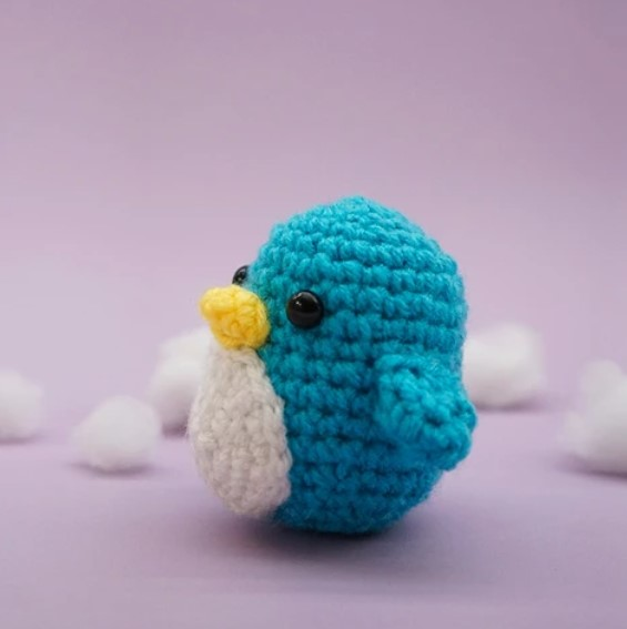 Free Penguin Amigurumi Crochet Pattern