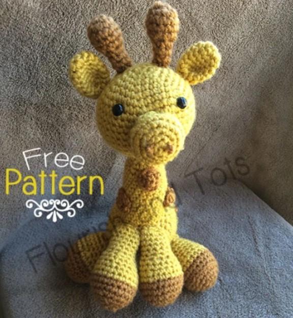 Giraffe Amigurumi Free Pattern