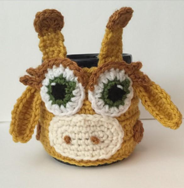 Giraffe Coffee Tea Mug Cup Cozy