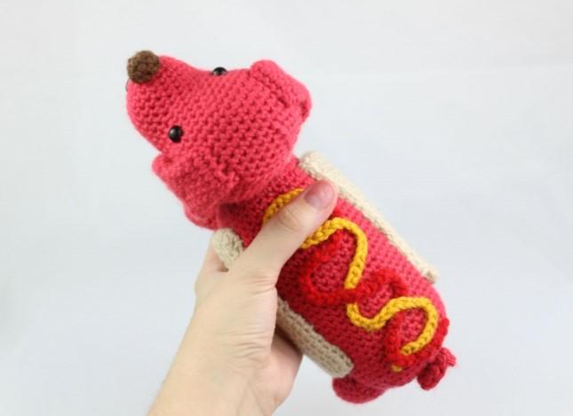 Hot Dog Amigurumi