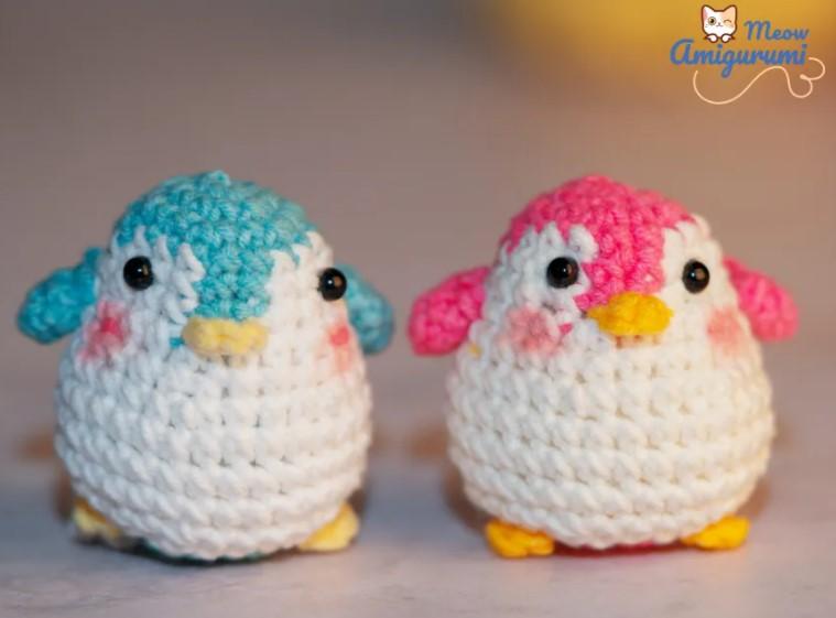 How To Crochet Penguin Couple – Amigurumi Penguin Pattern