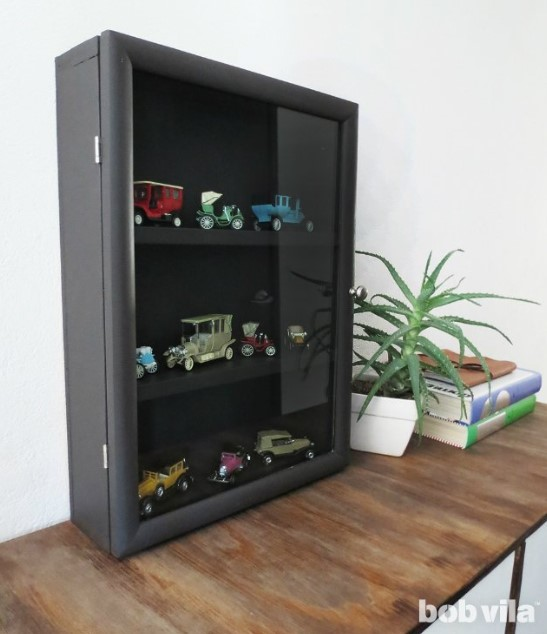 How to Build a Shadow Box Display