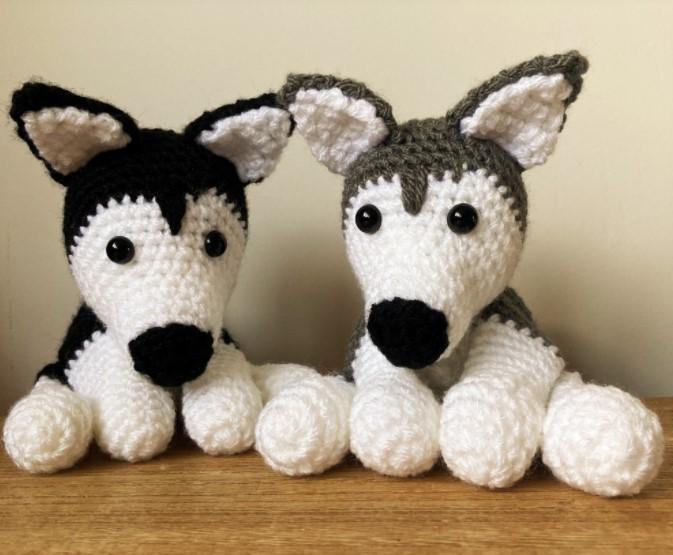 Husky Amigurumi Free Crochet Pattern
