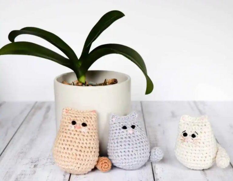 Itty bitty crochet kitty free crochet cat pattern