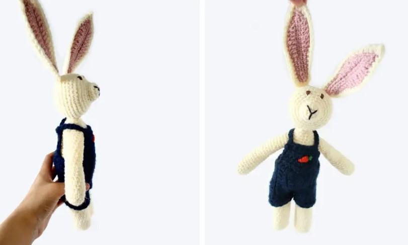 Jackson the Rabbit Free Crochet Bunny Pattern