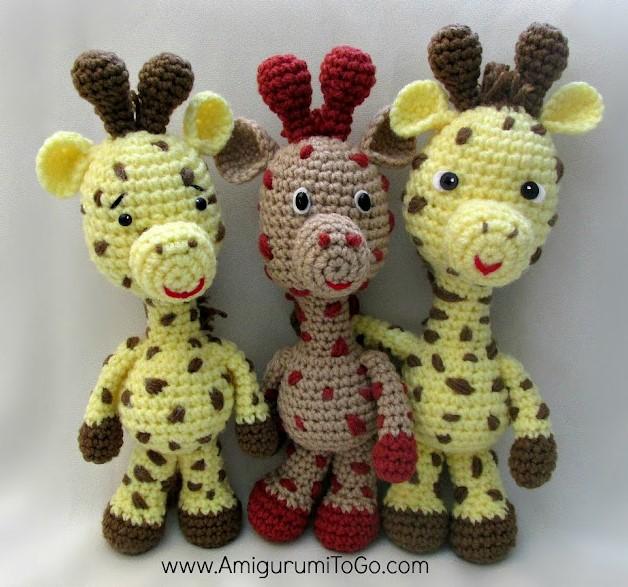 Little Bigfoot Giraffe Amigurumi Pattern
