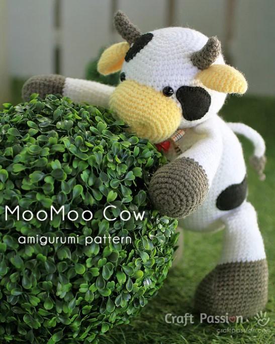 MOOMOO COW AMIGURUMI PATTERN