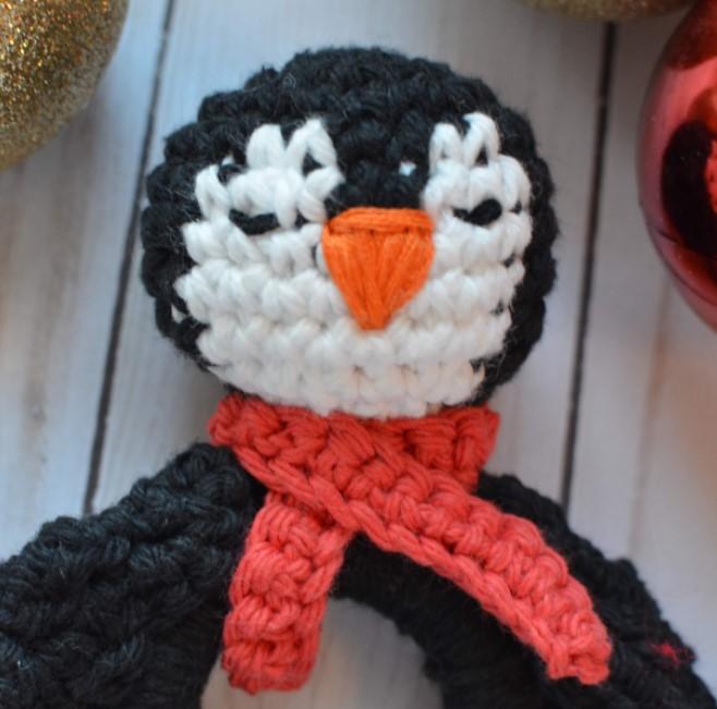 Mr. Penguin the Teething Ring