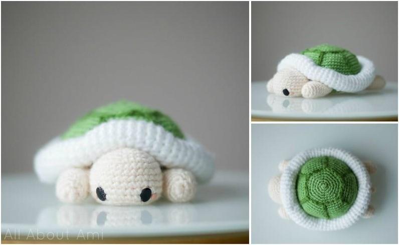 Pattern Amigurumi Turtle
