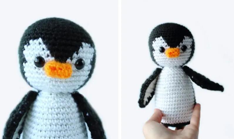 Penelope The Penguin Free Crochet Penguin Amigurumi Pattern
