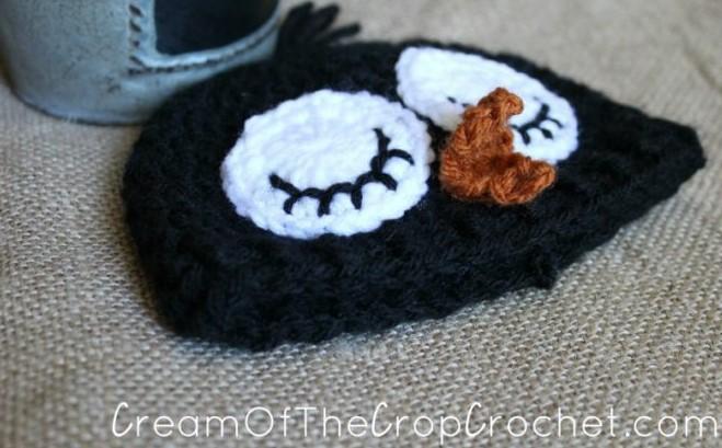 Preemie Newborn Adorable Penguin Hat Crochet Pattern