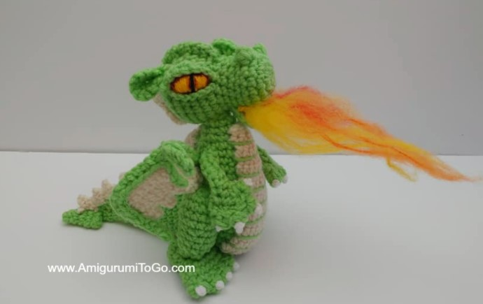 Small But Mighty Dragon Crochet
