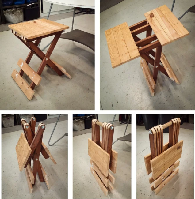 Small Folding Table UPDATED