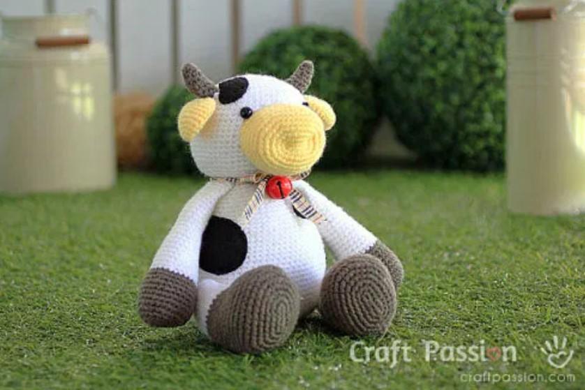 amigurumi cow free pattern