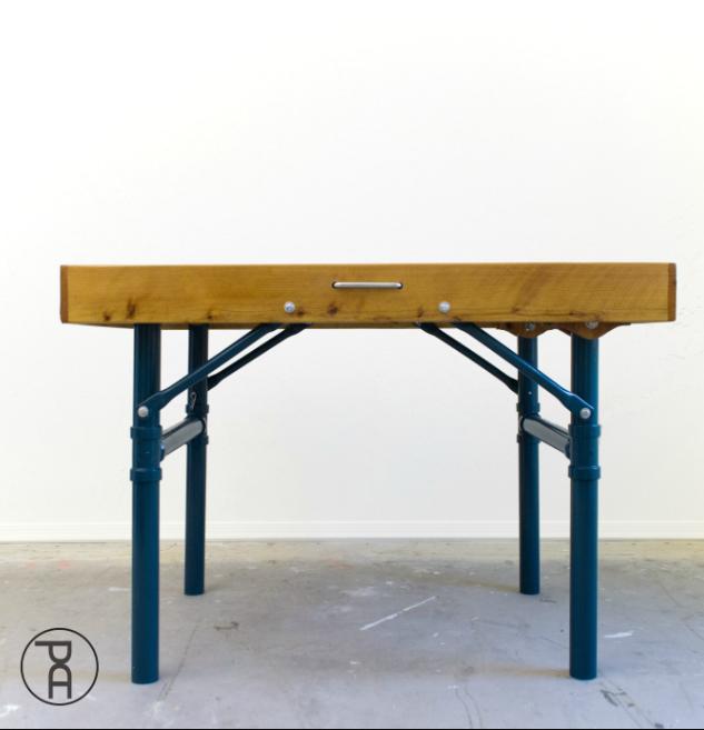an Outdoor Folding Table