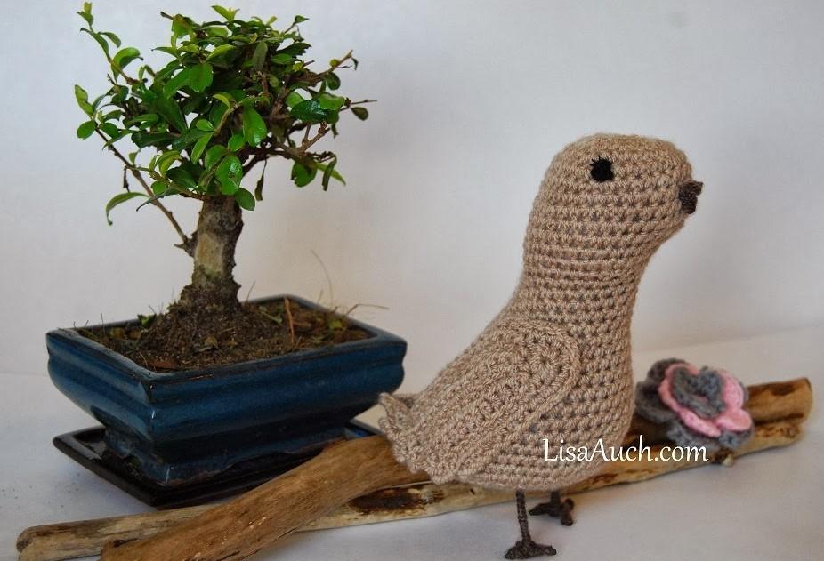 A Crochet Bird Tutorial