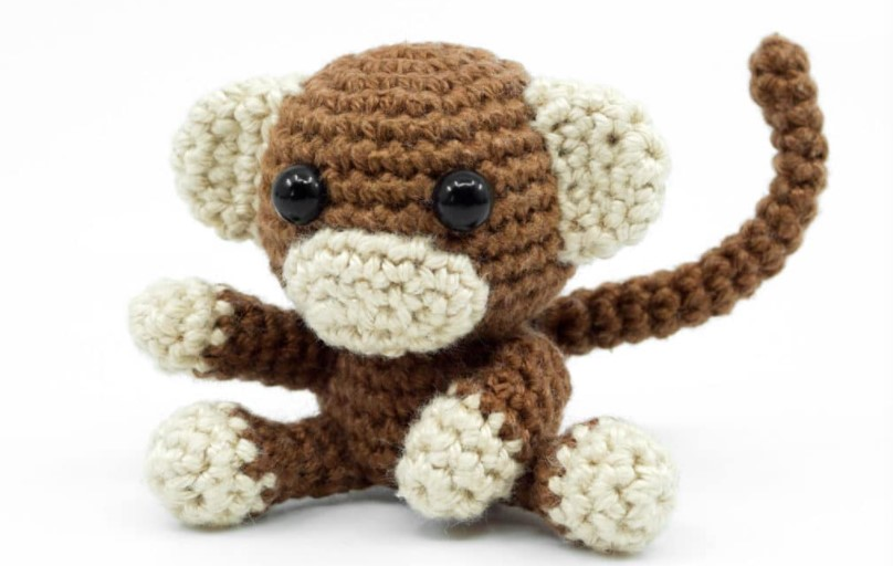 Amigurumi Crochet Monkey