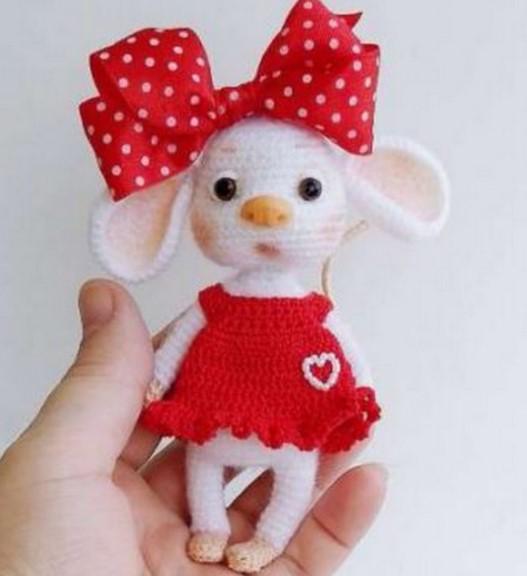 Amigurumi Little Mouse