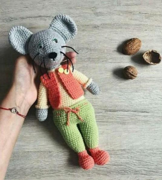 Amigurumi Mouse Free Crochet