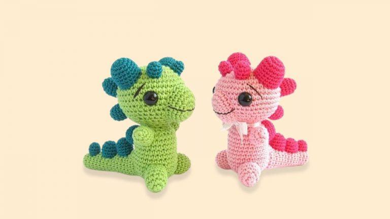 Cute Dragon Amigurumi Pattern