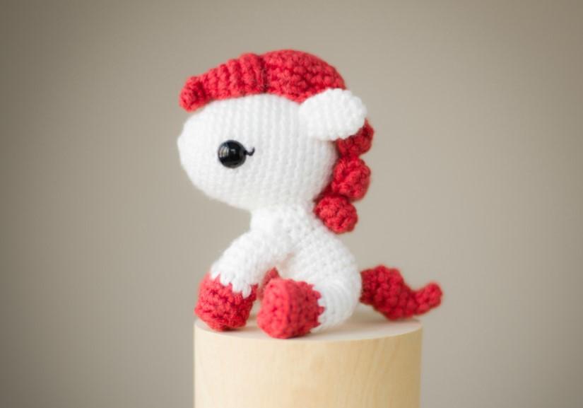 Cute Little Horse Amigurumi