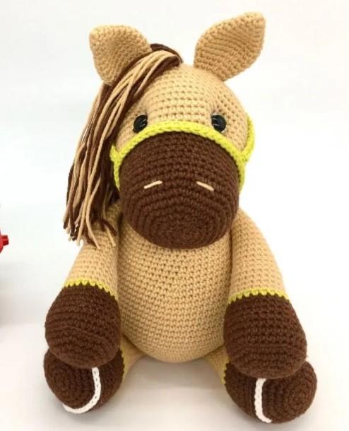 Free Crochet Amigurumi Horse Pattern