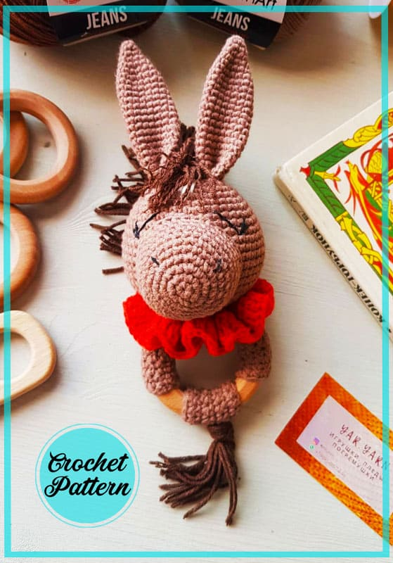 Free Rattle Horse Amigurumi Crochet Pattern