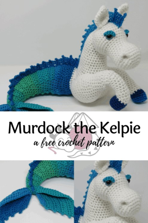 Horse Dragon Amigurumi Pattern