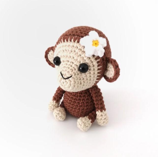 Maisy the Monkey Crochet Pattern