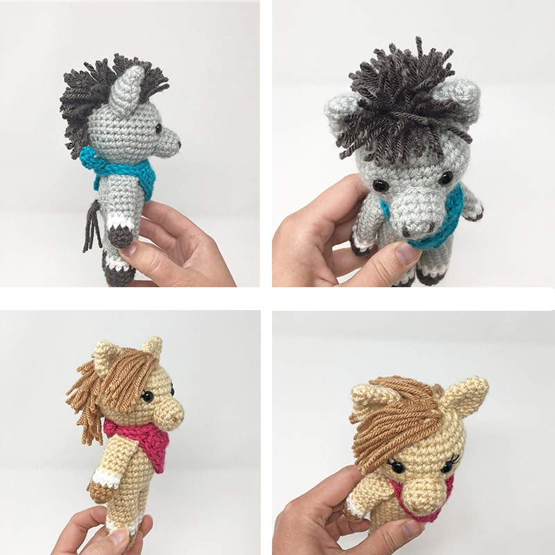 Mini Horse Amigurumi Pattern