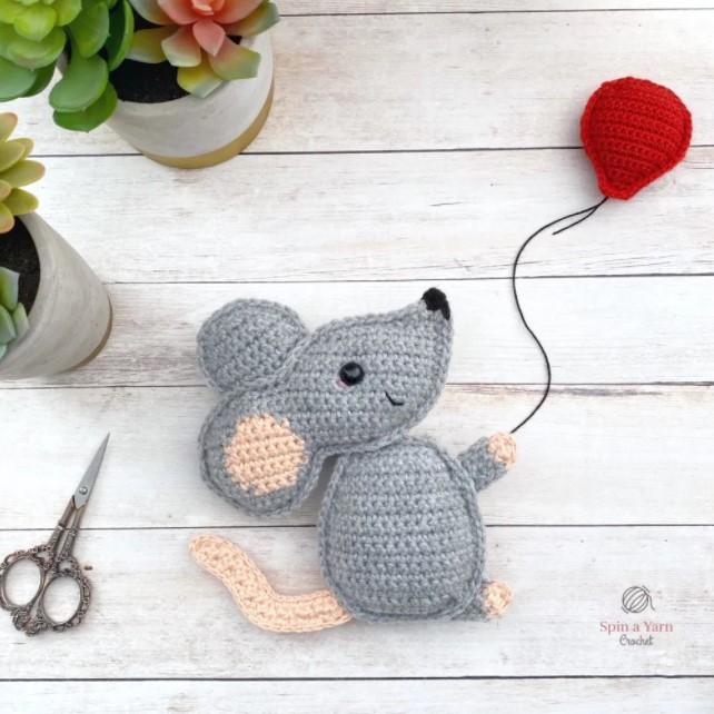 Mouse Amigurumi Free Crochet
