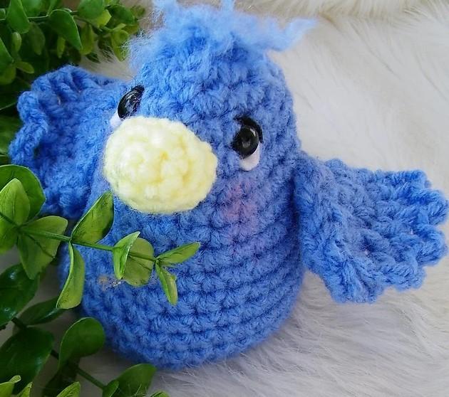 Simply Cute Blue Bird