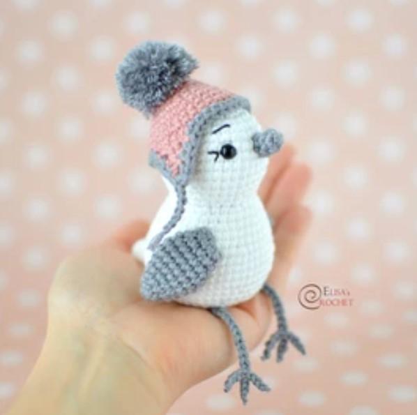 Snowbird Free Crochet Pattern