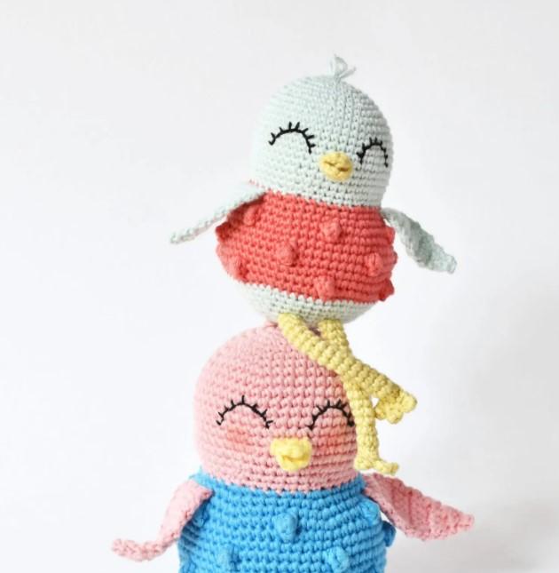 Sweet Bird Crochet Pattern