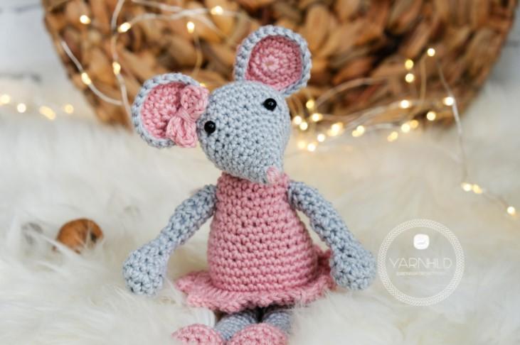 crochet mouse free crochet pattern